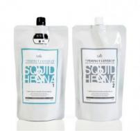 Средство для окрашивания волос LA'DOR Seven perfect cover up Black 500 мл+500 мл