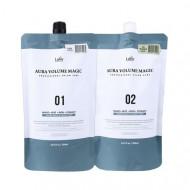 Средство для выпрямления волос Lador Aura Volume Magic - Damaged 500мл+500мл
