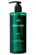 Успокаивающий шампунь против выпадения волос HERBALISM SHAMPOO 400мл